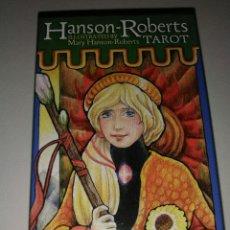 Barajas de cartas: HANSON ROBERTS TAROT. Lote 170576703