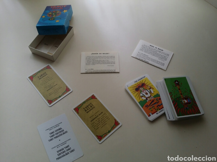 Barajas de cartas: TAROT BALBI HERACLIO FOURNIER - Foto 4 - 170596898