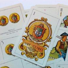 Barajas de cartas: BARAJA - NAIPE VIZCAINO - DISEÑO ORIGINAL CAJA DE AHORROS VIZCAÍNA - 1979. Lote 170900645