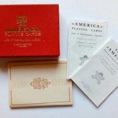 Barajas de cartas: ESTUCHE (SIN BARAJA) - AMERICA PLAYING CARDS - ARTS OF PRE-COLUMBIAN AMERICA (1960) - FOURNIER -. Lote 170906115