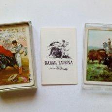 Barajas de cartas: PRECINTADA - BARAJA TAURINA - 54 CARTAS, ESQUINAS DORADAS - DIBUJOS ANTONIO CASERO - FOURNIER -. Lote 170919910