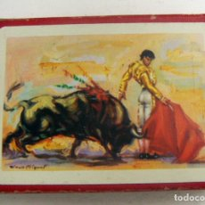 Barajas de cartas: BARAJA DE CARTAS TAURINA HERACLIO FOURNIER . Lote 171195635