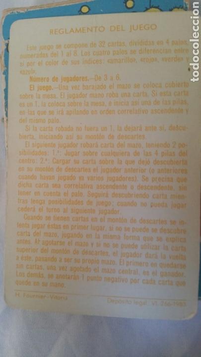 Barajas de cartas: Baraja FOURNIER Casimiro y sus amigos .Años 80. COMPLETA+INSTRUCCIONES +CAJA - Foto 2 - 171217522