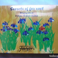 Barajas de cartas: HERACLIO FOURNIER SET SECRETS OF FAR EAST. Lote 171265890