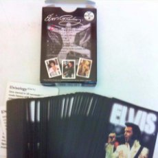 Barajas de cartas: ELVIS - BARAJA CARTAS AÑO 2000 - BICYCLE USA- NUEVAS-- POKER. Lote 171309634