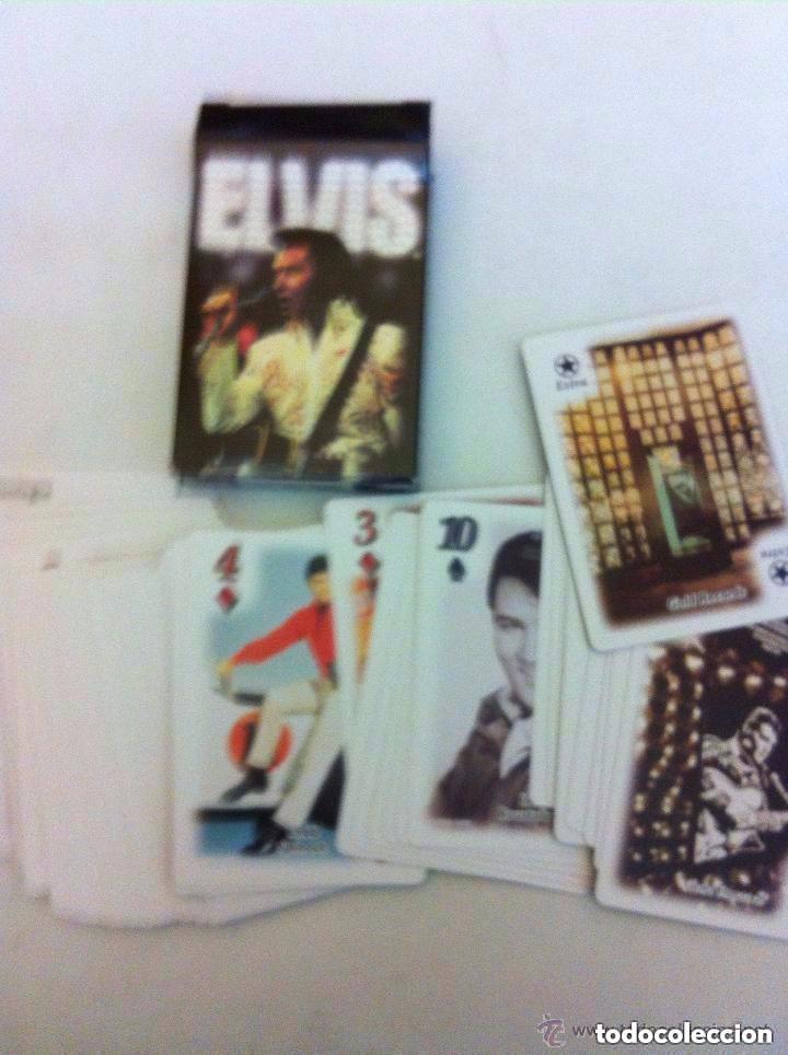 Barajas de cartas: Elvis - baraja cartas año 2000 - Bicycle USA- nuevas-- poker - Foto 2 - 171309634
