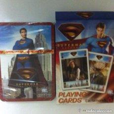 Barajas de cartas: SUPERMAN - BARAJA CARTAS - PRECINTADA. Lote 171309923