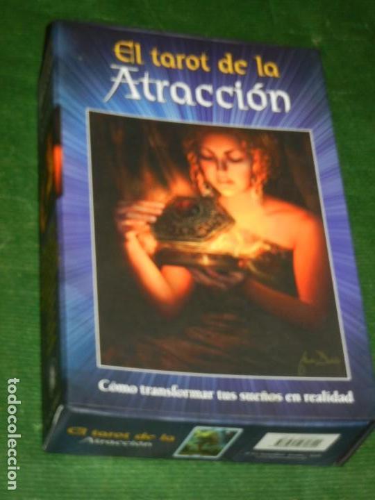 EL TAROT DE LA ATRACCION - CON ESTUCHE - MARINA ROVEDA, ILUSTR. SIMONE GABRIELLI 2011 (Juguetes y Juegos - Cartas y Naipes - Barajas Tarot)