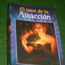 Barajas de cartas: EL TAROT DE LA ATRACCION - CON ESTUCHE - MARINA ROVEDA, ILUSTR. SIMONE GABRIELLI 2011. Lote 171323378