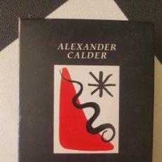 Barajas de cartas: BARAJA NAIPES ARTE ALEXANDER CALDER POKER PARIS 1996 CARTAS CAJA. Lote 171343640