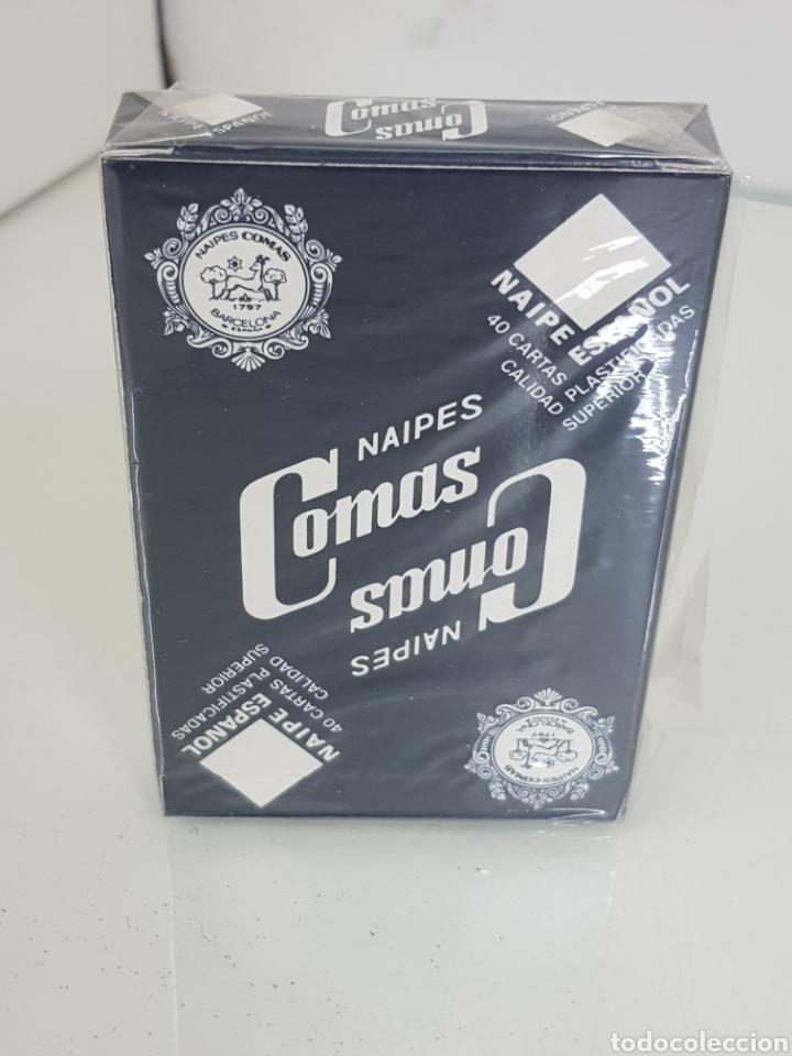 Barajas de cartas: Baraja de cartas 40 naipes españoles de la marca comas barcelona para multicentrum - Foto 2 - 171509884