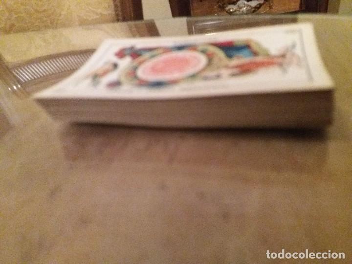 Barajas de cartas: Baraja completa 40n. Sebastián Comas Ricart.1860. - Foto 5 - 171553368