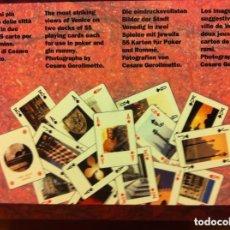 Barajas de cartas: VENEZIA - 2 BARAJAS-POKER. Lote 171569145