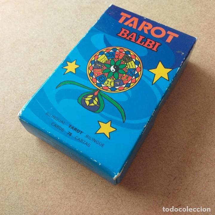 TAROT BALBI . HERACLIO FOURNIER . (Juguetes y Juegos - Cartas y Naipes - Barajas Tarot)