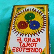 Barajas de cartas: BARAJA FOURNIER, EL GRAN TAROT ESOTÉRICO, 78 CARTAS. Lote 171596158