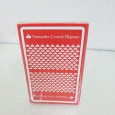 Barajas de cartas: NUECA, BARAJA DE CARTAS DE 40 NAIPES ESPAÑOLES FABRICADO PARA SANTANDER CENTRAL HISPANO POR FOURNIER. Lote 171603548