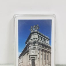 Barajas de cartas: BARAJA DE CARTAS DE 40 NAIPES ESPAÑOLES FABRICADA POR FOURNIER PARA BANCO CENTRAL. Lote 171604173