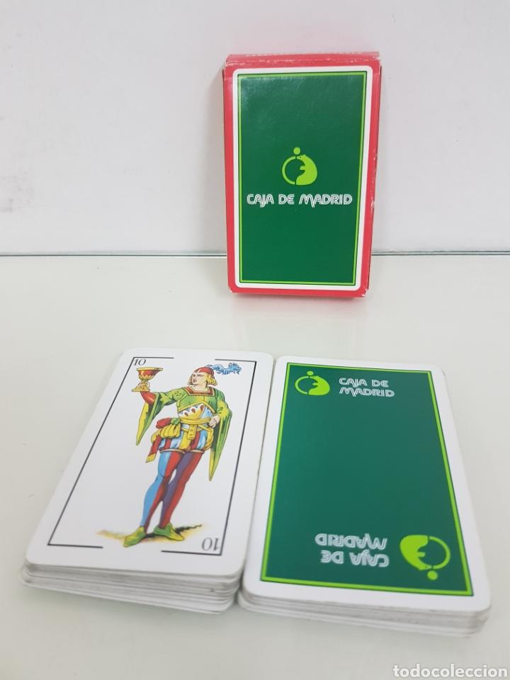 BARAJA DE CARTAS DE 40 NAIPES ESPAÑOLES FABRICADOS PARA CAJA MADRID POR FOURNIER (Juguetes y Juegos - Cartas y Naipes - Baraja Española)