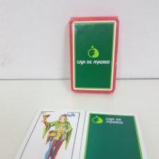 Barajas de cartas: BARAJA DE CARTAS DE 40 NAIPES ESPAÑOLES FABRICADOS PARA CAJA MADRID POR FOURNIER. Lote 171605735