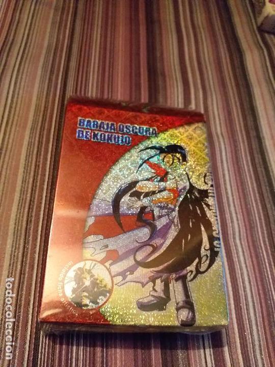 BARAJA OSCURA DE KOKUJO PRECINTADA SIN ABRIR DUEL MASTERS WZARDS COLOR ROJO (Juguetes y Juegos - Cartas y Naipes - Otras Barajas)