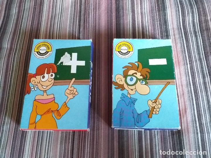 2 BARAJAS CARTAS SUMAS Y RESTAS VARI TEMAS MATEMÁTICAS PRIMARIA (Juguetes y Juegos - Cartas y Naipes - Barajas Infantiles)
