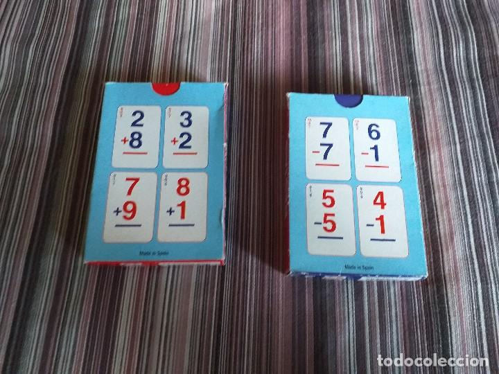 Barajas de cartas: 2 BARAJAS CARTAS SUMAS Y RESTAS VARI TEMAS MATEMÁTICAS PRIMARIA - Foto 2 - 171638155