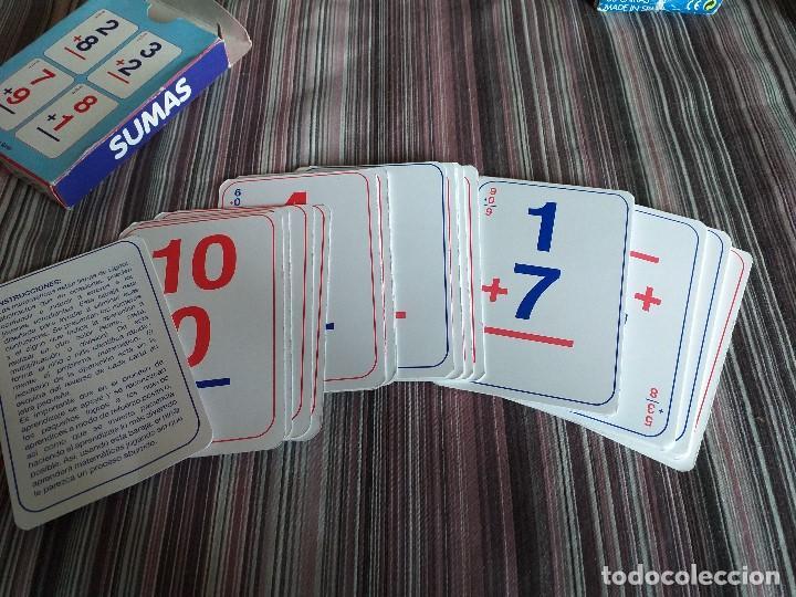 Barajas de cartas: 2 BARAJAS CARTAS SUMAS Y RESTAS VARI TEMAS MATEMÁTICAS PRIMARIA - Foto 3 - 171638155