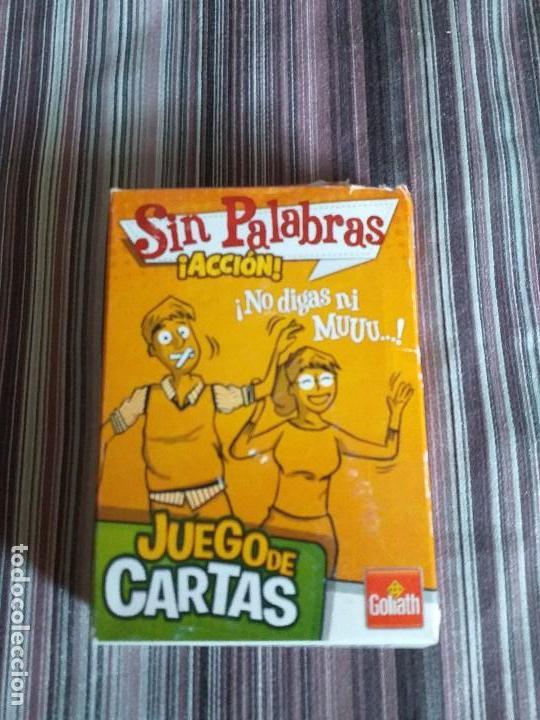 BARAJA CARTAS JUEGO SIN PALABRAS ¡ACCIÓN! GOLIATH ED. (Juguetes y Juegos - Cartas y Naipes - Barajas Infantiles)