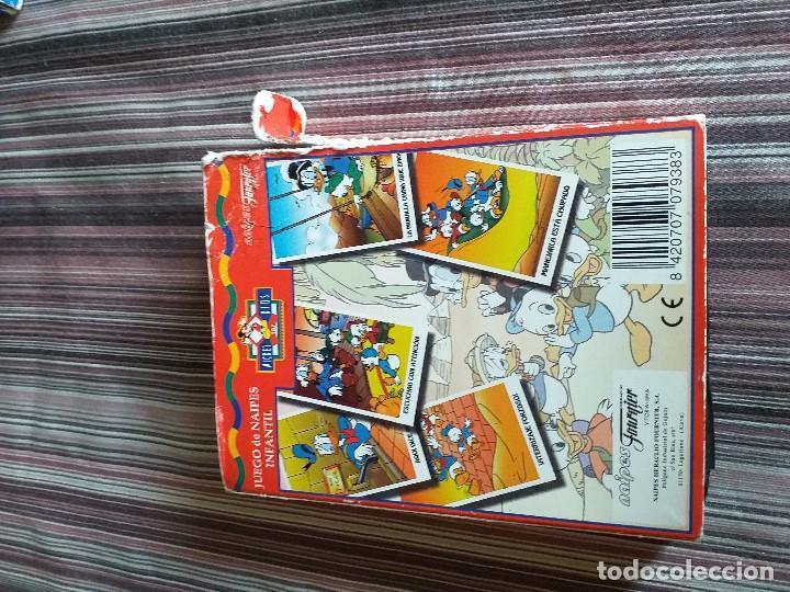 Barajas de cartas: BARAJA CARTAS JUEGO SUPERAVENTURAS LA PIRÁMIDE DEL FARAÓN MICKEY KIDS DISNEY DONALD FOURNIER. - Foto 3 - 171639377