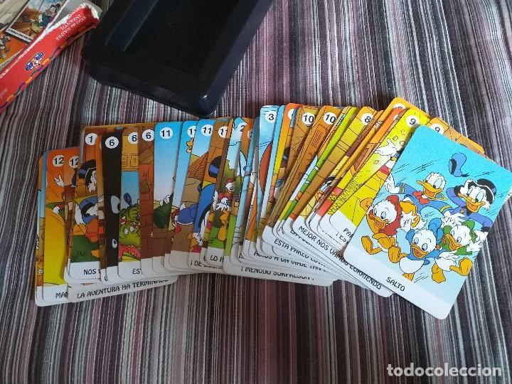 Barajas de cartas: BARAJA CARTAS JUEGO SUPERAVENTURAS LA PIRÁMIDE DEL FARAÓN MICKEY KIDS DISNEY DONALD FOURNIER. - Foto 5 - 171639377