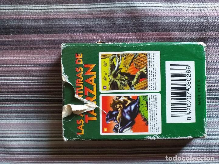Barajas de cartas: BARAJA CARTAS JUEGO LAS AVENTURAS DE TARZÁN - Foto 2 - 171639852