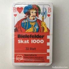 Barajas de cartas: BARAJA SKAT 1000 BIELEFELDER - 32 CARTAS - JOKER - PRECINTADO. Lote 171644727