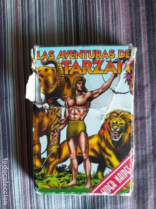 BARAJA CARTAS JUEGO LAS AVENTURAS DE TARZÁN (Juguetes y Juegos - Cartas y Naipes - Barajas Infantiles)