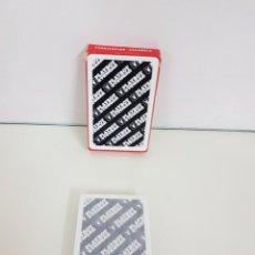 Barajas de cartas: BARAJA DE CARTAS DE 40 NAIPES ESPAÑOLES FABRICADO PARA PLAYBOY EYES WEAR. Lote 171685393