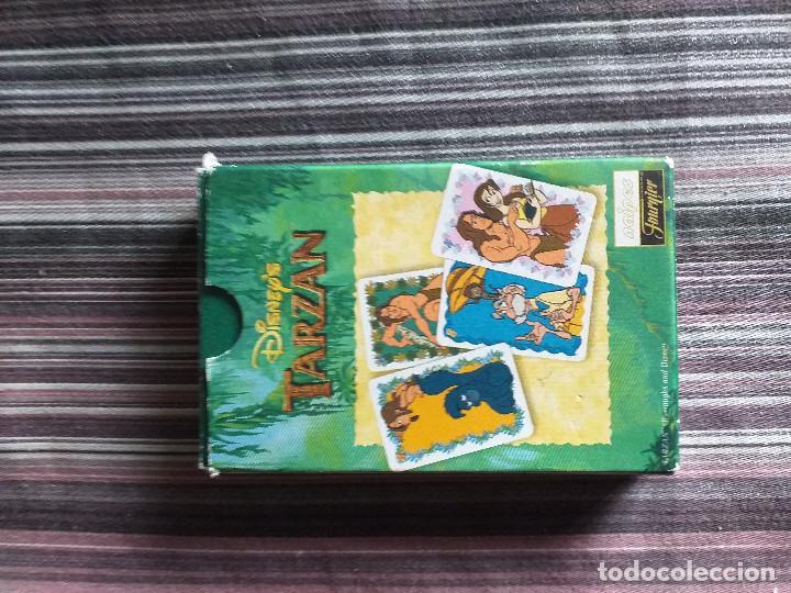 Barajas de cartas: BARAJA CARTAS JUEGO TARZÁN DISNEY FOURNIER - Foto 2 - 171712433