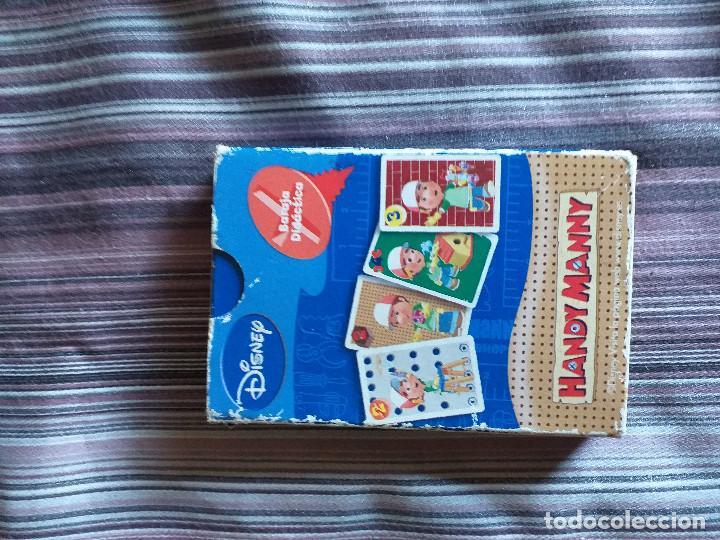 Barajas de cartas: BARAJA CARTAS JUEGO HANDY MANNY DISNEY FOURNIER - Foto 4 - 171712669