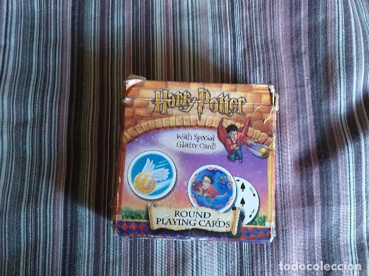 BARAJA CARTAS REDONDAS JUEGO HARRY POTTER CARTAMUNDI (Juguetes y Juegos - Cartas y Naipes - Barajas Infantiles)