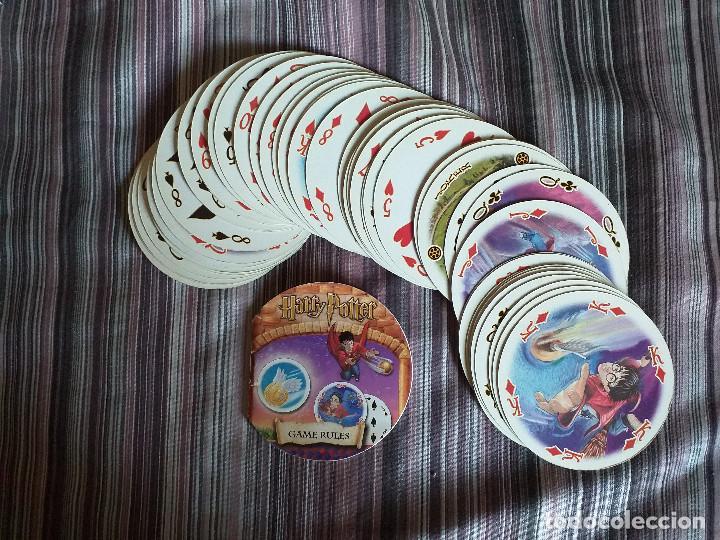 Barajas de cartas: BARAJA CARTAS REDONDAS JUEGO HARRY POTTER CARTAMUNDI - Foto 9 - 171712872