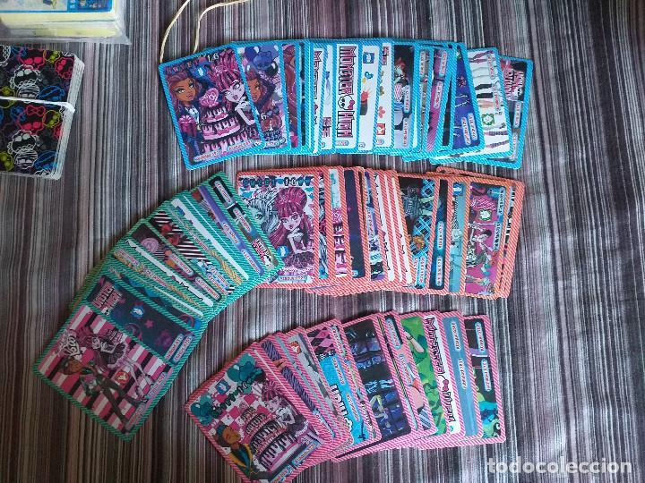 BARAJA MUCHAS CARTAS FICHAS MONSTER HIGH (Juguetes y Juegos - Cartas y Naipes - Barajas Infantiles)
