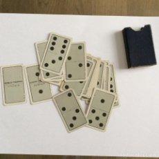 Barajas de cartas: DOMINÓ SILENCIOSO FOURNIER COMPLETO. Lote 171798293