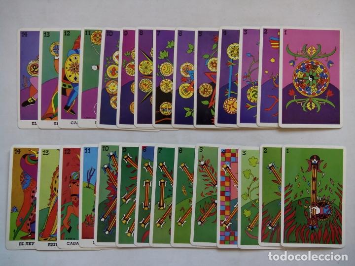 Barajas de cartas: TAROT BALBI. HERACLIO FOURNIER. VITORIA. ESPAÑA 1978. DIBUJOS ORIGINALES DOMENICO BALBI. - Foto 7 - 171808327