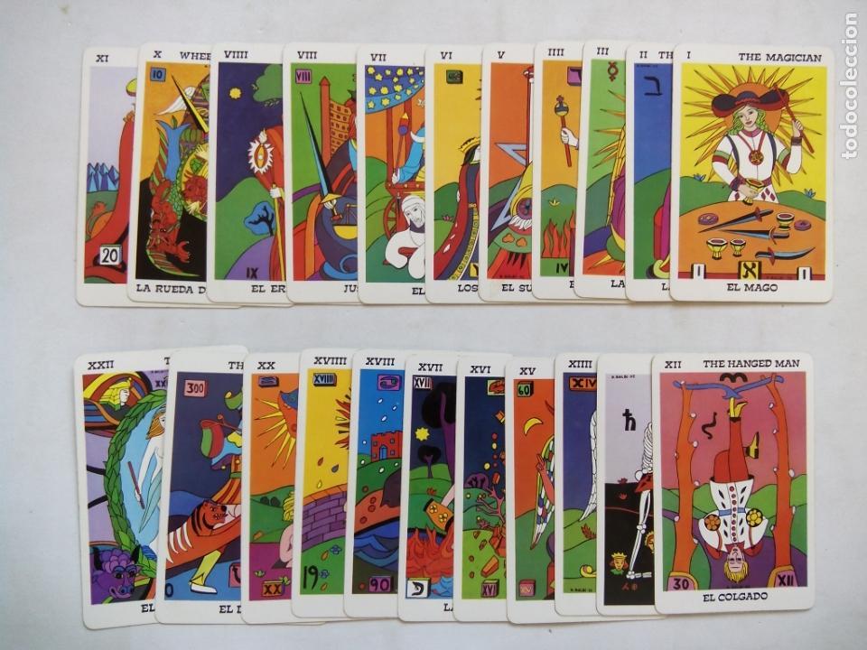 Barajas de cartas: TAROT BALBI. HERACLIO FOURNIER. VITORIA. ESPAÑA 1978. DIBUJOS ORIGINALES DOMENICO BALBI. - Foto 9 - 171808327
