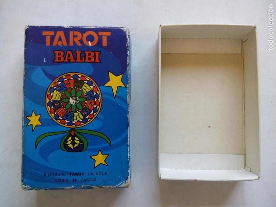 Barajas de cartas: TAROT BALBI. HERACLIO FOURNIER. VITORIA. ESPAÑA 1978. DIBUJOS ORIGINALES DOMENICO BALBI. - Foto 10 - 171808327