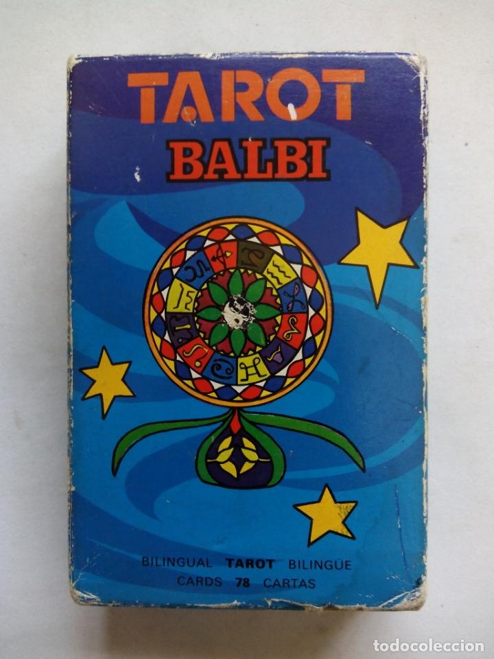 TAROT BALBI. HERACLIO FOURNIER. VITORIA. ESPAÑA 1978. DIBUJOS ORIGINALES DOMENICO BALBI. (Juguetes y Juegos - Cartas y Naipes - Barajas Tarot)