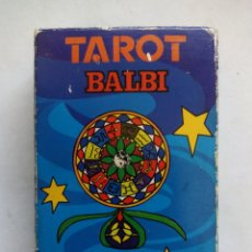 Barajas de cartas: TAROT BALBI. HERACLIO FOURNIER. VITORIA. ESPAÑA 1978. DIBUJOS ORIGINALES DOMENICO BALBI.. Lote 171808327