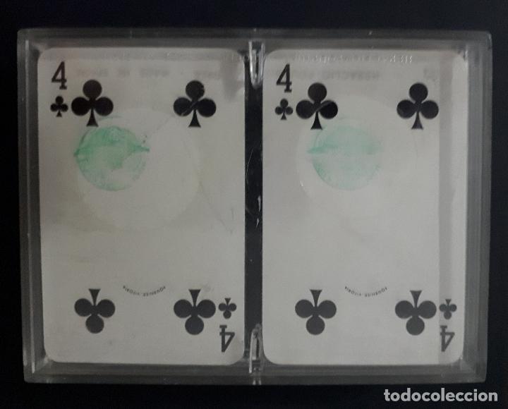 Barajas de cartas: ESTUCHE CON 2 BARAJAS FOURNIER CINZANO - Foto 3 - 171835950