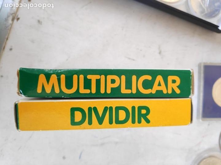Barajas de cartas: JUEGO DE 2 BARAJAS EDUCATIVAS 1° DE MULTIPLICAR Y 2° DIVIDIR -VARITEMAS ESPAÑA- - Foto 6 - 268586459