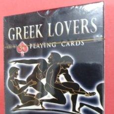 Barajas de cartas: GREEK LOVERS - BARAJA DE POKER ERÓTICA. Lote 172177018