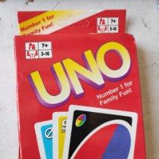 Barajas de cartas: BARAJA DE CARTAS UNIVERSAL -EL JUEGO DEL UNO- NUEVO. Lote 208969096