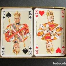 Barajas de cartas: BARAJA CARTAS DOBLE IMPERIAL KAISER. COMPLETA. 110 NAIPES. CON ESTUCHE ORIGINAL. AUSTRIA. VIENA.. Lote 172278813